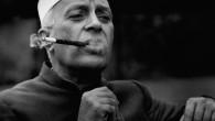 Nehru-smoking